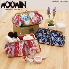 Moomin Little My Papa Makeup Pouch Cosmetic Bag Purse Pen Case from Japan E1394