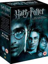Harry Potter - Complete 8-Film Collection DVD New COSMETIC DAMAGE UNSEALED