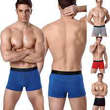 Men Breathable Tourmaline Magnetic Underwear Underpants Shorts Brief Boxer Trunk