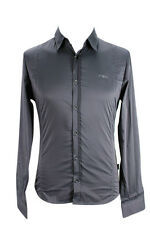 Costume National Men's Button-Front Shirt - Grey