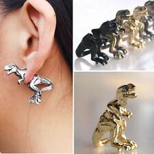 Lady Gothic Punk Rock Temptation Dinosaur Dragon Ear Cuff Wrap Clip Earring Gift