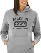Made in 1956 60th Birthday Gift Idea Women Hoodie Funny Present