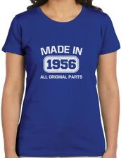 60th Birthday Gift Idea Made in 1956 Women T-Shirt Funny Present
