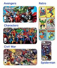 Avengers Marvel superheroes spiderman hard back phone case iphone 5 6 SE M8 S4