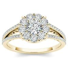 10Kt Yellow Gold 1 Ct Diamond Engagement Ring