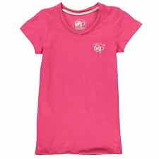 Ocean Pacific Girls V Neck T-Shirt Pink New With Tags