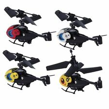 1 pc Cool New Mini Helicopter with Remote Control RC Micro Remote Control IG