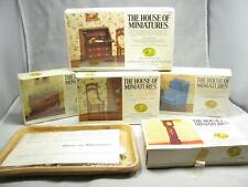 THE HOUSE OF MINIATURES DOLL HOUSE FURNITURE 6 PIECE SET 552-002