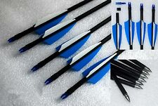 Handmade Fiberglass Arrows For Compound or Recurve Bow Target Practice