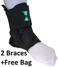 Basketball Ankle Guards (Braces) with Free Carry Bag *SPECIAL*