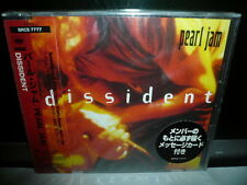 PEARL JAM DISSIDENT 1995 JAPAN CD OBI 2100yen SRCS SEALED 1ST PRESS