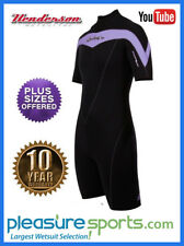 Henderson Thermoprene Women's Springsuit Shorty Wetsuit PLUS SIZES 18 20 22 24
