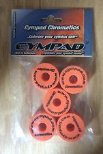 Cympad Chromatic Replacement Cymbal Stand Felts In Orange  Pack Of 5
