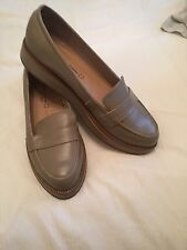 Ladies Next Flat Leather Shoes Loafers Size 6 BN