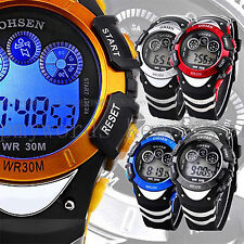 OHSEN Mens Military Army Alarm Date/Day Digital Stopwatch Sport Run Quartz Watch