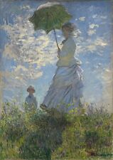 Claude Monet: Woman with a Parasol. Art Print/Poster (1035560)