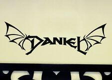 Personalised Name Dragon Wing Wall Custom Decal Sticker
