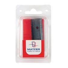Matfer Replacement Board Scraper Blades Pack Of 2 Easy To Use Spare Parts