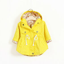 New cotton baby girls outerwear spring clothes jacket girls outerwear bownot
