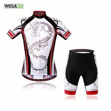 Unisex Outdoor Bike Cycling Wear Bicycle Short Sleeve Jersey Padded Set Shorts