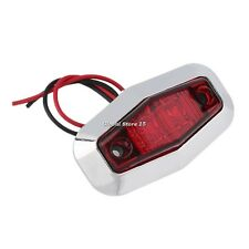 12V LED Trailer Car Truck Clearance Side Marker Submersible Light Width Lamp GS