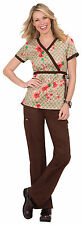 NWT KOI Kathryn Scrub Top 115PR-DSF (Designer Floral) ( All Sizes)