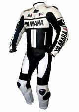 Men's YAMAHA MOTOGP Black 46 Motorcycle Leather Suit Leather Jacket And Pants