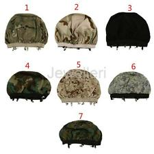 Outdoor Hunting Army Military Airsoft Paintball Helmet Camouflage Cover Headwear
