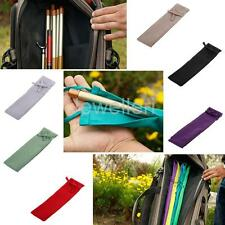Cotton Cloth Fishing Rod Sleeve Pole Cover Sock Glove Protective Gear Bag Pouch