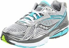 Saucony women's Hurricane 14 -  White/Grey/Blue (10134-1)