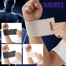 Elastic Wrist Knee Ankle Elbow Calf Arm Support Wrap Band Brace Protector 3 Size