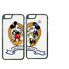 Disney Mickey Minnie Customize Couple Phone Case for iPhone 6PLUS 6 5 5s 4 4s