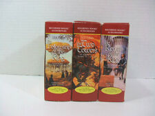 J.R.R. Tolkien's LORD OF THE RINGS TRILOGY UNABRIDGED AUDIOBOOKS SET Unused