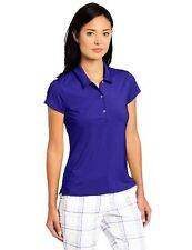 adidas TW3004S3 Golf Womens Climalite Solid Stretch Jersey Polo