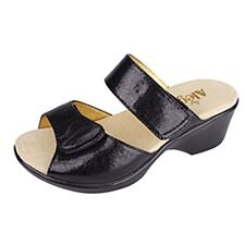 Alegria ALG-ASH Womens Asha  Wedge Sandals (Black- Choose SZ/Color.