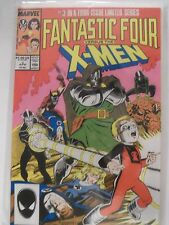 2 Marvel Fantastic Four comic books Mephisto vs #1 and X-Men vs #3