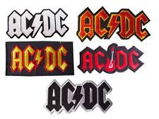 New AC/DC Heavy Metal Band embroidered sew on iron on patch.