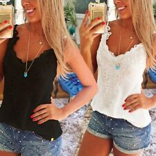Women Lady Summer Loose Casual Sleeveless Vest Shirt Top Blouse Women Tops Tank