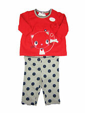 Baby Girl Clothing Outfit Top T-Shirt Leggings Trousers Kitten New
