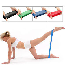 Resistance Tube Gym Fitness Exercise Workout Heavy Yoga Sport Training Band New