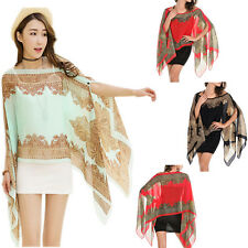 Chiffon Sunscreen Summer Long Soft Scarf Scarves Shawl Neck Wrap Stole Scarves