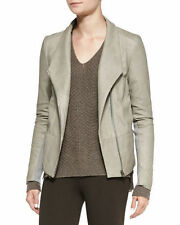 NWT Vince $995 Pocket Scuba Leather Jacket, Gorgeous, Size S, Authentic!
