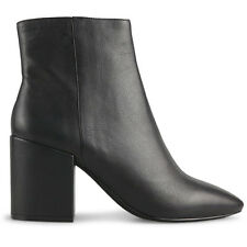 Wittner Ladies Shoes Black Leather Boots