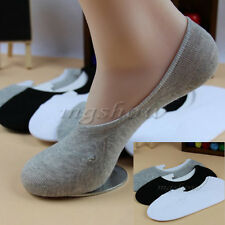 Lot Invisible Mens Trainer Liner Socks No Show Secret Footsies Adults Sports