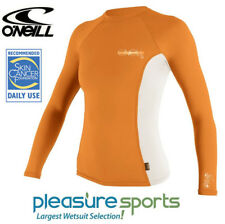 O'Neill Womens Rashguard Long Sleeve Rash Guard Sun Protective UV Shirt