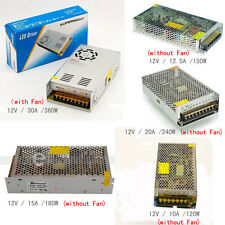 12V DC 10A/12.5A/15A/20A/30A Regulated Switching Power Supply Fr LED Strip Light