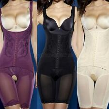 Women Full Body Shaper Waist Underbust Cincher Suit Control Firm Tummy Corset