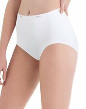 20 Hanes Women's Cotton White Briefs PW40WH