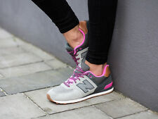 NEW BALANCE NB 574 GS NEW ENGLAND GRAY KL574NHG CASUAL RUNNING SHOES SIZE 4-7