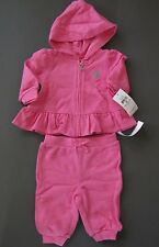 Ralph Lauren polo Baby Girl Cotton Tracksuit Size 3 Months 6 Months 9 Months NWT